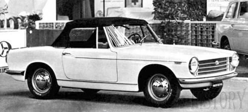 Innocenti Spider & Coupe car