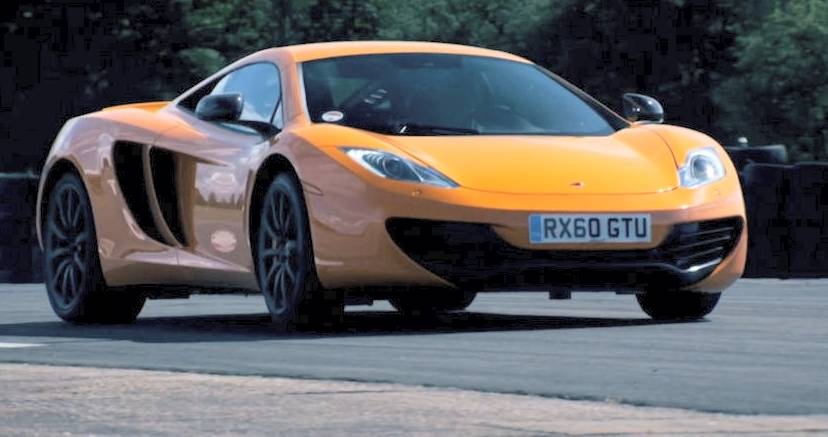 McLaren MP4-12C in Top Gear