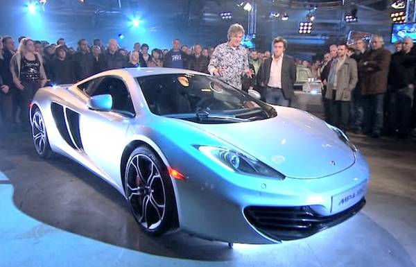 2011 McLaren MP4-12C top gear bbc