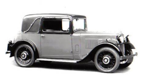 Morris Ten Six Special Coupe 1930s