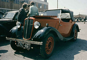 Morris Eight Series II (1938)