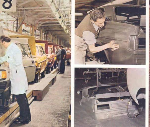 Morris Ital production line