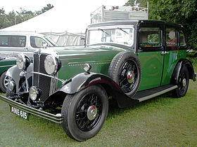 Morris Oxford Sixteen & Twenty (1934–35)