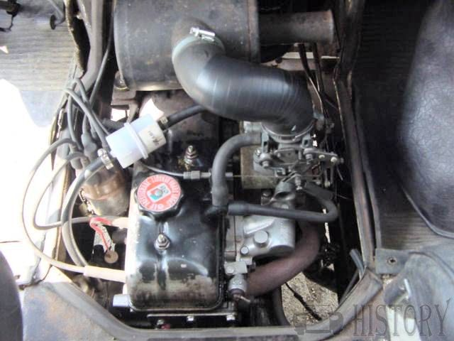 1971 Renault Estafette Engine