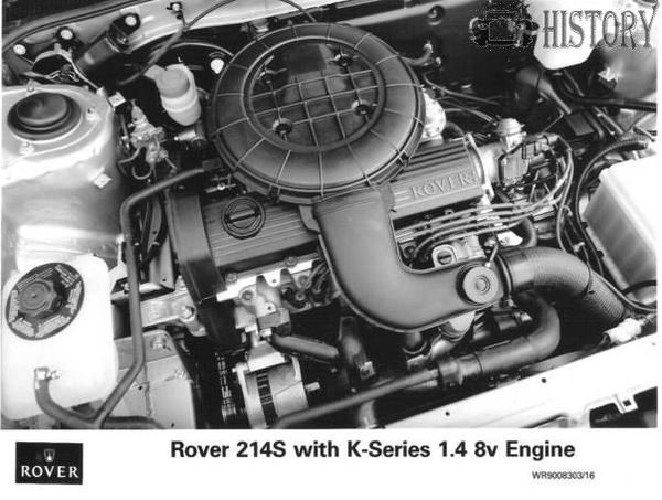 Rover K Series engine history