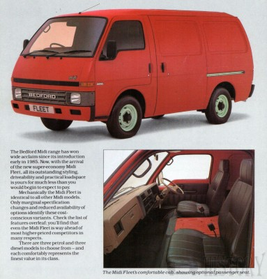 b361074fad Bedford - Bedford Midi (1985-1994)