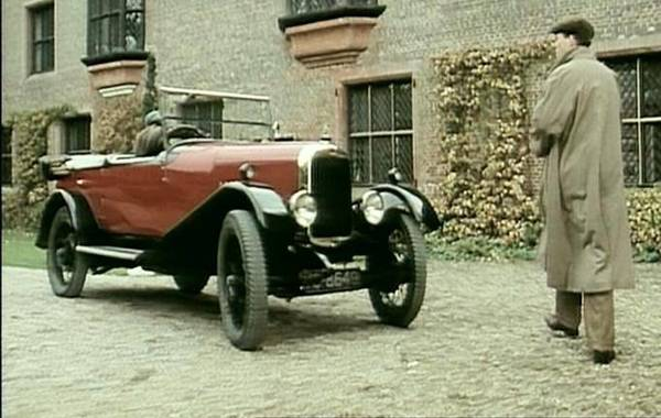 1926 Alvis 12/50 in Jeeves and Wooster TV Series