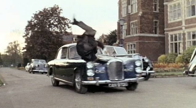 Alvis TF 21 3-Litre Series III in The Avengers,