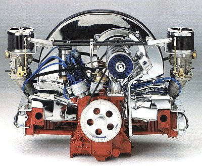 VW Audi Engines - VW Air-cooled type1 Engine (1936-2006)