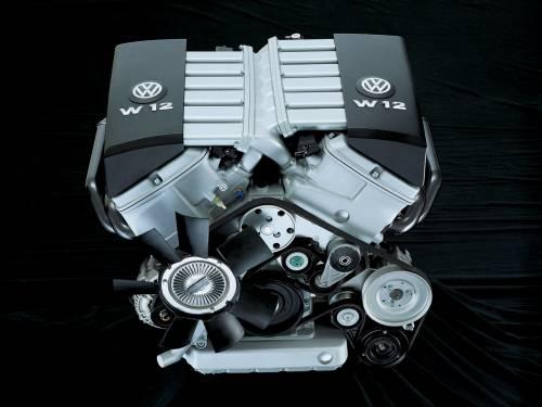 Vw Audi Engines Vw W12 Engine 2001