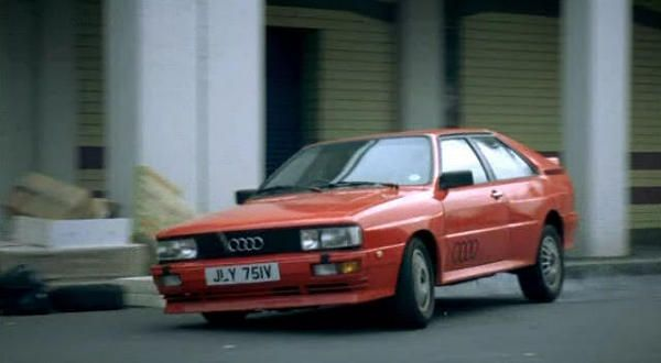 1983 Quattro is driven by DCI Gene Hunt  in the television drama Ashes to Ashes