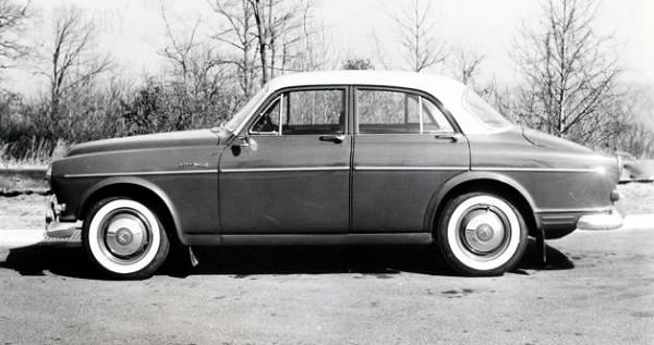VOLVO AMAZON 122S 1959 side view