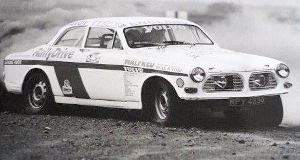 VOLVO-123GT race rally