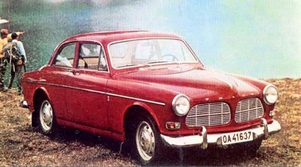 Volvo Amazon car history