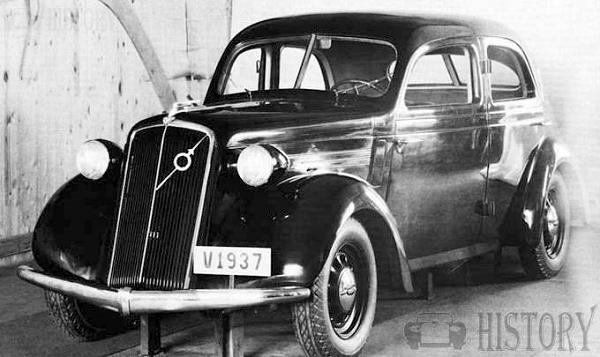 The 1935 Volvo PV51 Prototype car