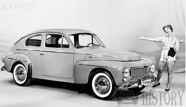 The 1958 Volvo PV544 car