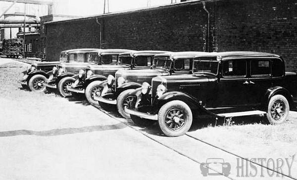 1934 Volvo 650 Series taxicabs