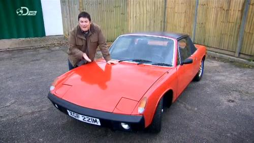 1974 Porsche 914 Wheeler Dealers series 9