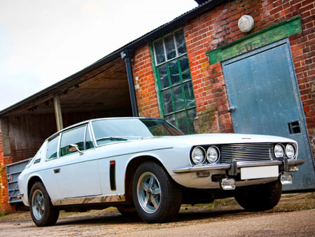 Wheeler dealers Jensen Interceptor III