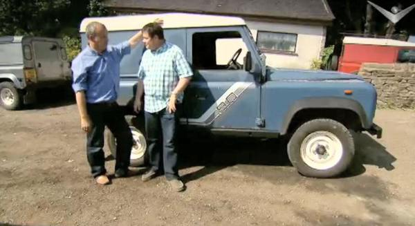 Wheeler dealers Land Rover 90