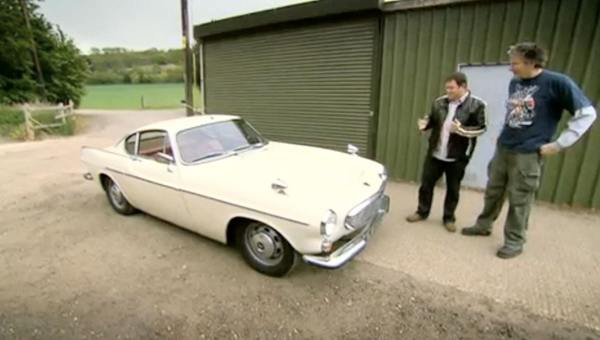 Wheeler dealers Volvo P1800