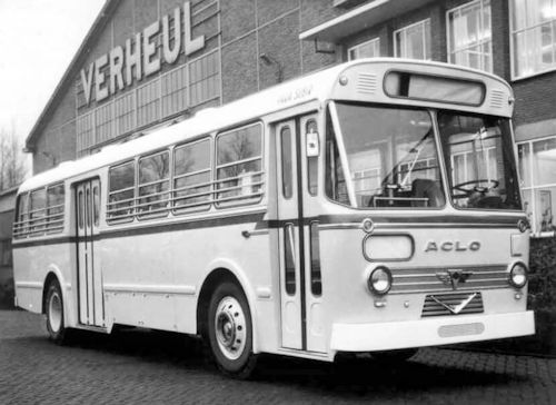 ACLO Commercial vehicles  manufacturer of England. From 1948 to 1962.