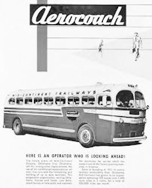 Aerocoach Commercial vehicles manufacturer of the USA. From 1940 to 1952.