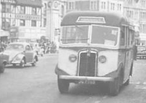 The Commer PNF4 British bus