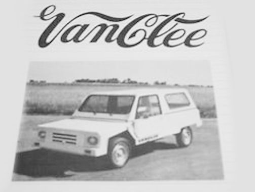 Van Clee Automotive manufacturer Egem-Pittem Belgium From 1978 to 1996.