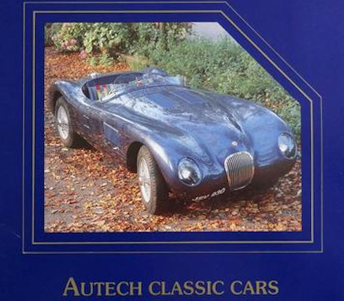 Autech Classic Cars  Automotive manufacturer of Bromsgrove , Worcestershire.Great Britain from 1985 to 1989.