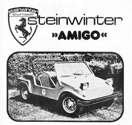 Steinwinter GmbH Automotive manufacturer Germany from 1969 on