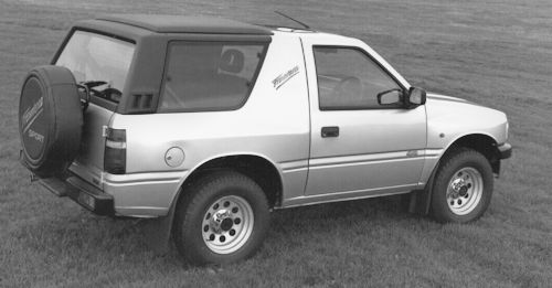 Opel Vauxhall Frontera A (1991-1998)