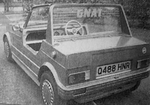 Gnat Cars Car manufacturer of Great Britain from 1974 to 1975.