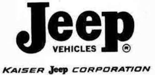 Kaiser Jeep Corporation  Automotive manufacturer of United States of America from 1963 to 1970.
