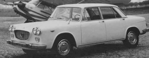 Lancia Flavia series 1 car range and history