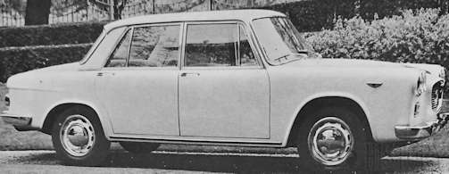Lancia Flavia series 1 Specification and Technical details