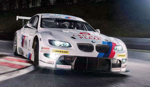 BMW M3 DTM car range and history