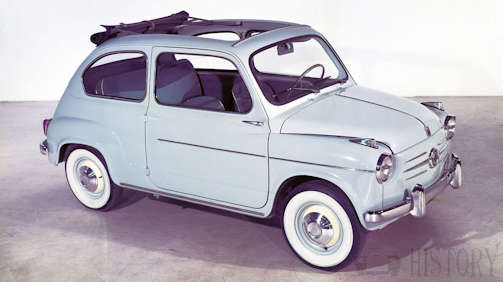 Fiat 600 car range and history