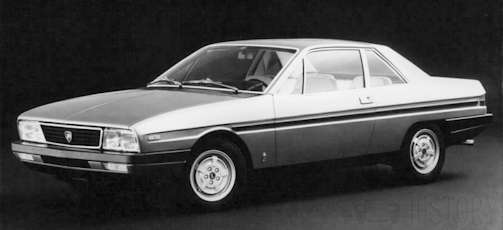 Lancia Gamma coupe Vehicle technical details