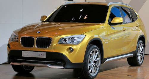 BMW Concept car X1 from 2008