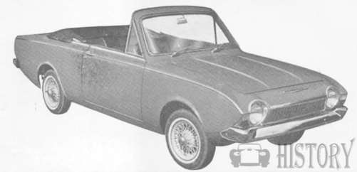 Ford Corsair car history from 1963 to 197