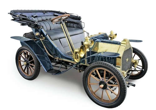 Peugeot type 58 car from 1904