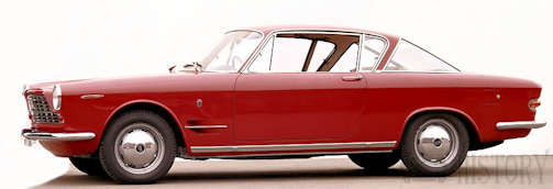 Fiat 2300 Coupe history from 1961 to 1969