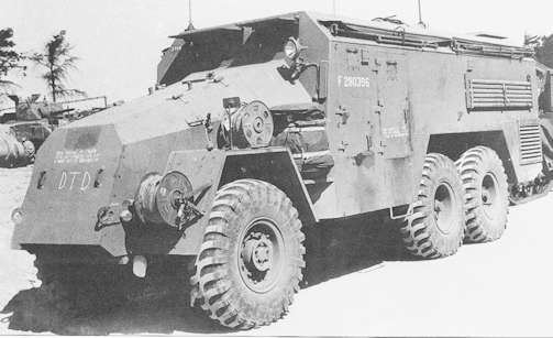 AEC command vehicle Technical details