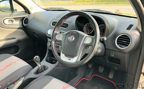 MG 3SW  car interior
