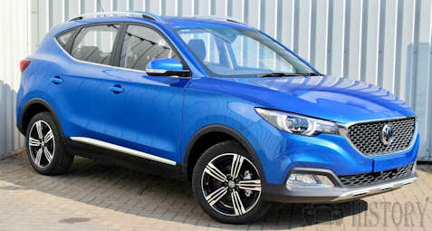 MG ZS SUV from 2017