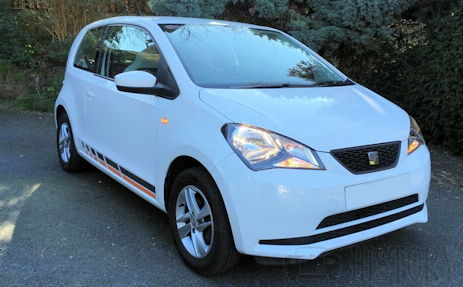 Seat Mii from 2011 on