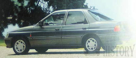 Ford Orion 2nd generation side view