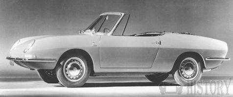 Fiat 850 Spider 1st generation