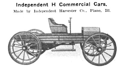 IHC (Independent Harvester Company) Automotive manufacturer of Plano , Illinois ;United States of America from 1910 to 1911.